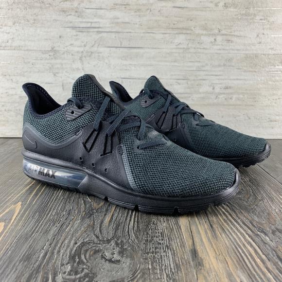 Nike l Air Max Sequent 3 BlackBlack 10 NWT